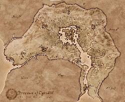 Oblivion Mapa
