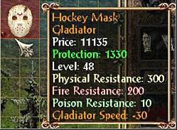 Ekwipunek Hokeisty Jasona 3