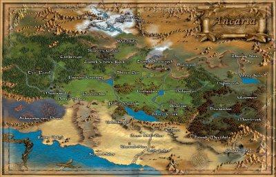 Mapa Sacred