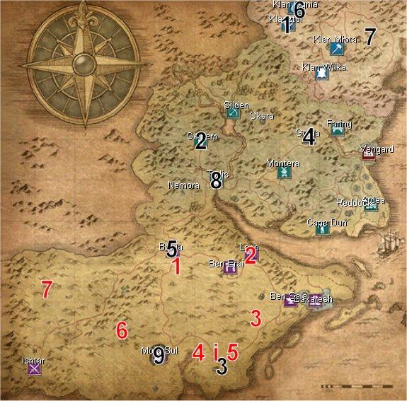 Mapa przyjaciół