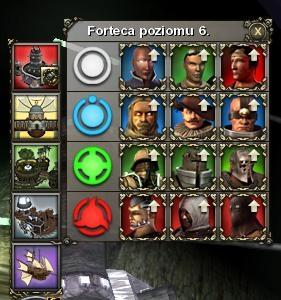 forteca, screen