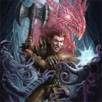 barbarian, dragon, dungeons