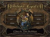 check the bodies, baldur\'s gate ii