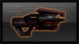 broń ciężka, miotacz osobliwości m-490 czarna burza