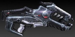 projektor błyskawic, broń ciężka