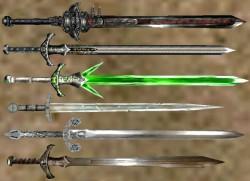 długie miecze