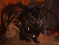 wow, deathwing, skrzydło śmierci, czarny smok