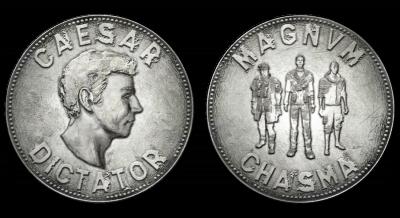 legion cezara, denar