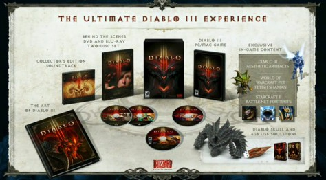 diablo 3, edycja kolekcjonerska
