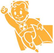 super vault boy, profity, fallout, postapokalipsa, postapo, vegas, new