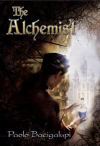 paolo bacigalupi, alchemik, okładka