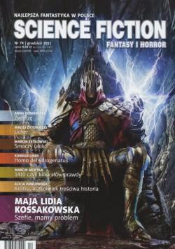 science fiction fantasy i horror, science fiction fantasy i horror 74, okładka