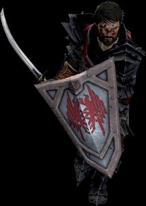 dragon age 2, wojownik