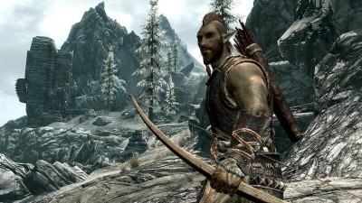 skyrim, leśny elf, bosmer