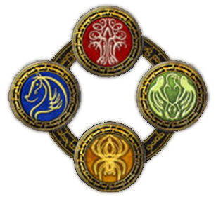 ent's strength, spider's guile, eagle's cry, stallion's spirit, umiejętności drużynowe, fellowship skills