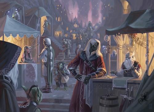 menzoberranzan city of intrigue, wizards of the coast