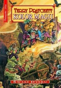 kolor magii, okładka, terry pratchett, pratchett