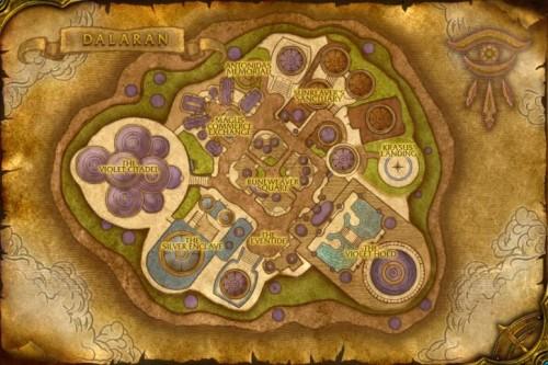 mapa dalaranu, mapa, dalaran