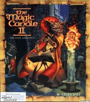 magic candle 2, okładka gry