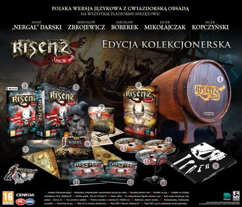 risen 2, polska edycja kolekcjonerska