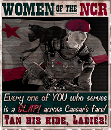 fallout: new vegas, republika nowej kalifornii, propaganda