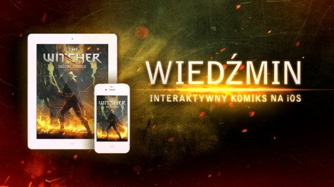 geralt, wiedźmin 1, witcher interactive comic