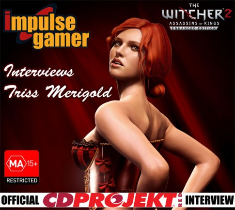 triss merigold, impulse gamer, wiedxmin 2