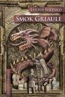 smok griaule, okładka książki