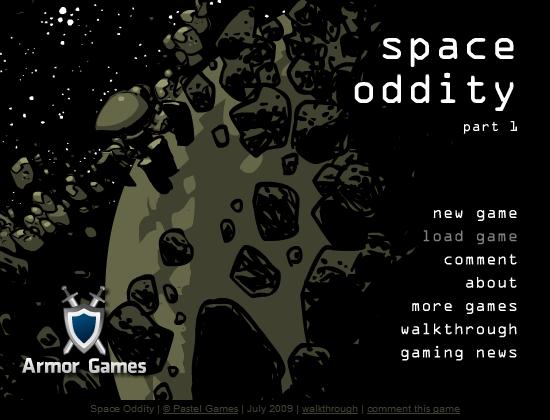 space oddity, gra flash