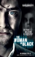 woman in black, poster, plakat