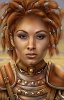 mazzy, portret