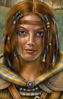 nalia, portret