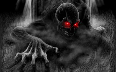 zombie, szkielet