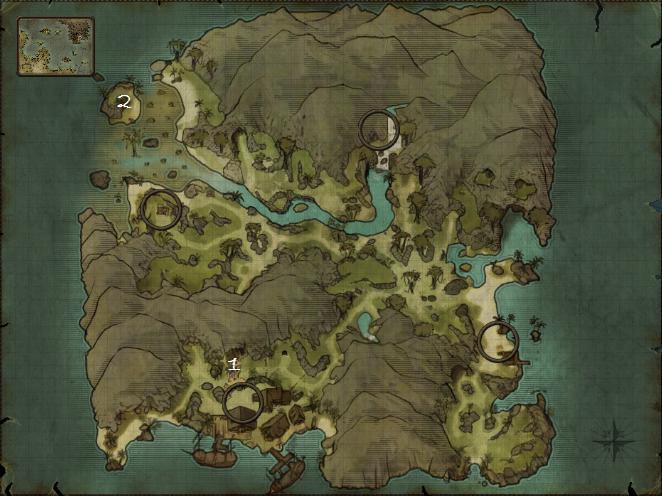 risen 2, mapa