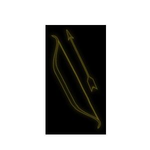łucznictwo, symbol