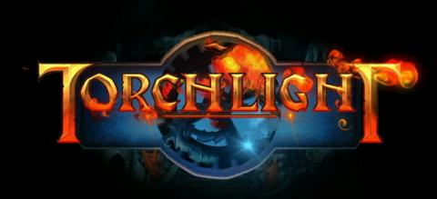 torchlight, logo