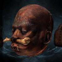 risen 2 mroczne wody, legendarne przedmioty, skurczona głowa