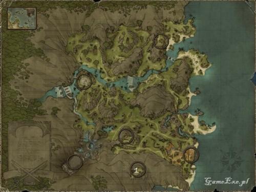 risen 2 mroczne wody, legendarne przedmioty, wybrzeże ostrzy