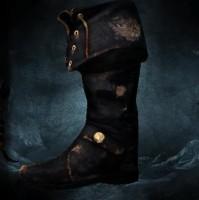 risen 2 mroczne wody, legendarne przedmioty, lewy but