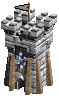 wieża łuczników
