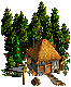 słomiana chata
