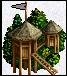 wieża na szczycie drzewa