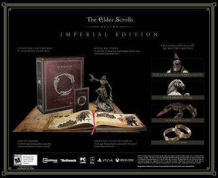the elder scrolls online, edycja kolekcjonerska