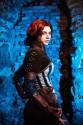 triss merigold, wiedźmin, cosplay