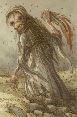 morowa dziewica, demon