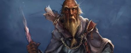 mag, staruszek, arcymag, czarownik, czarodziej, fantasy