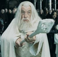 gandalf, gandalf biały