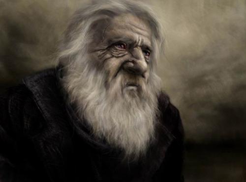 starzec, bajarz, opowieści, mag, czarownik, czarodziej