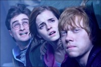 harry potter, ron weasley, hermiona granger