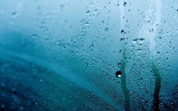 szkło, szyba, deszcz, okno